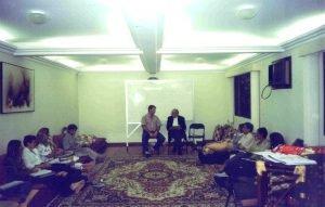 Aula com Federico Navarro e José Henrique Volpi