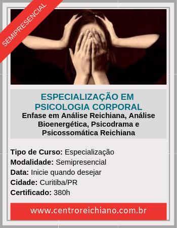 Psicologia Corporal - Formacao Semipresencial